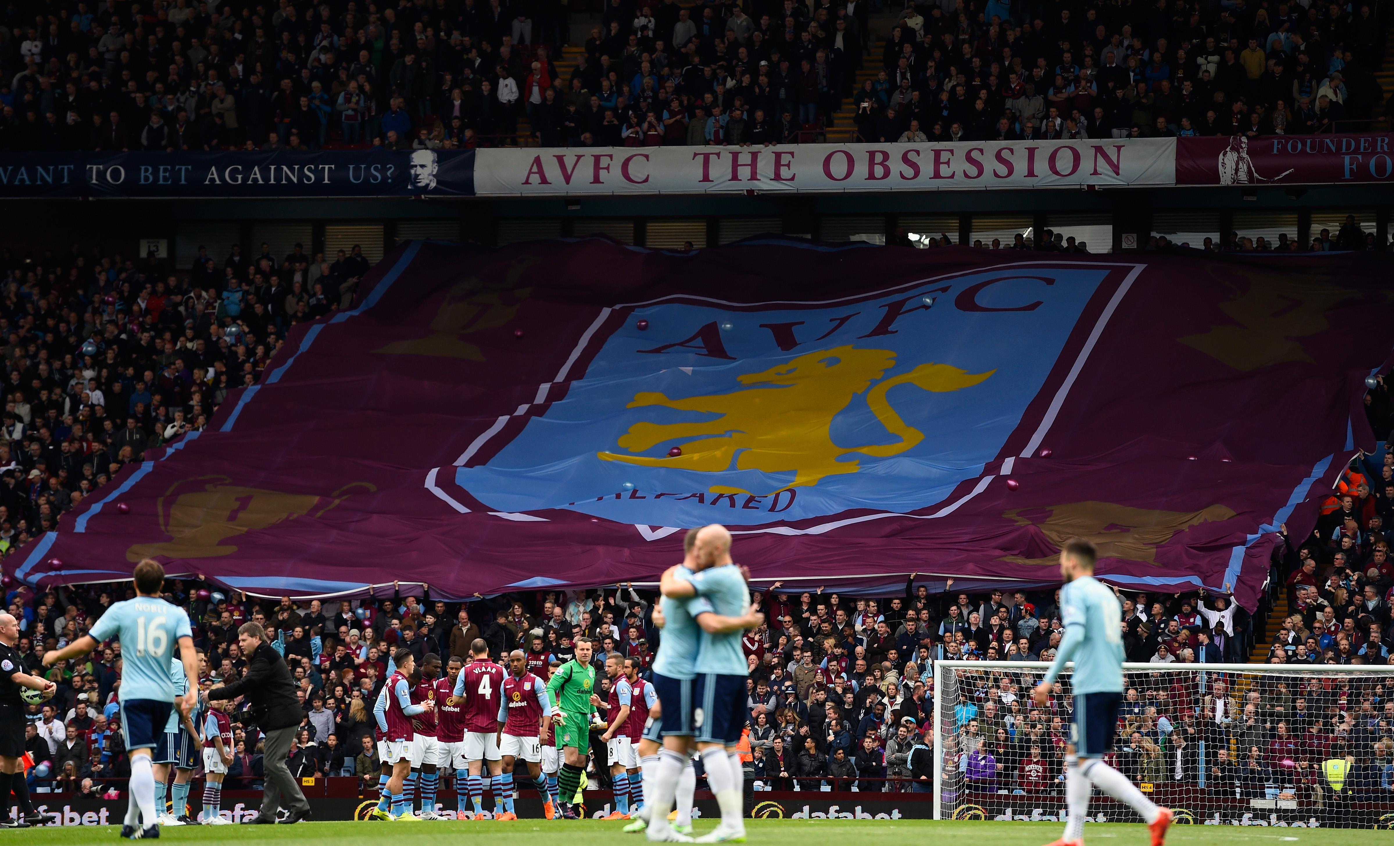 League Match 12 Wolverhampton At Aston Villa