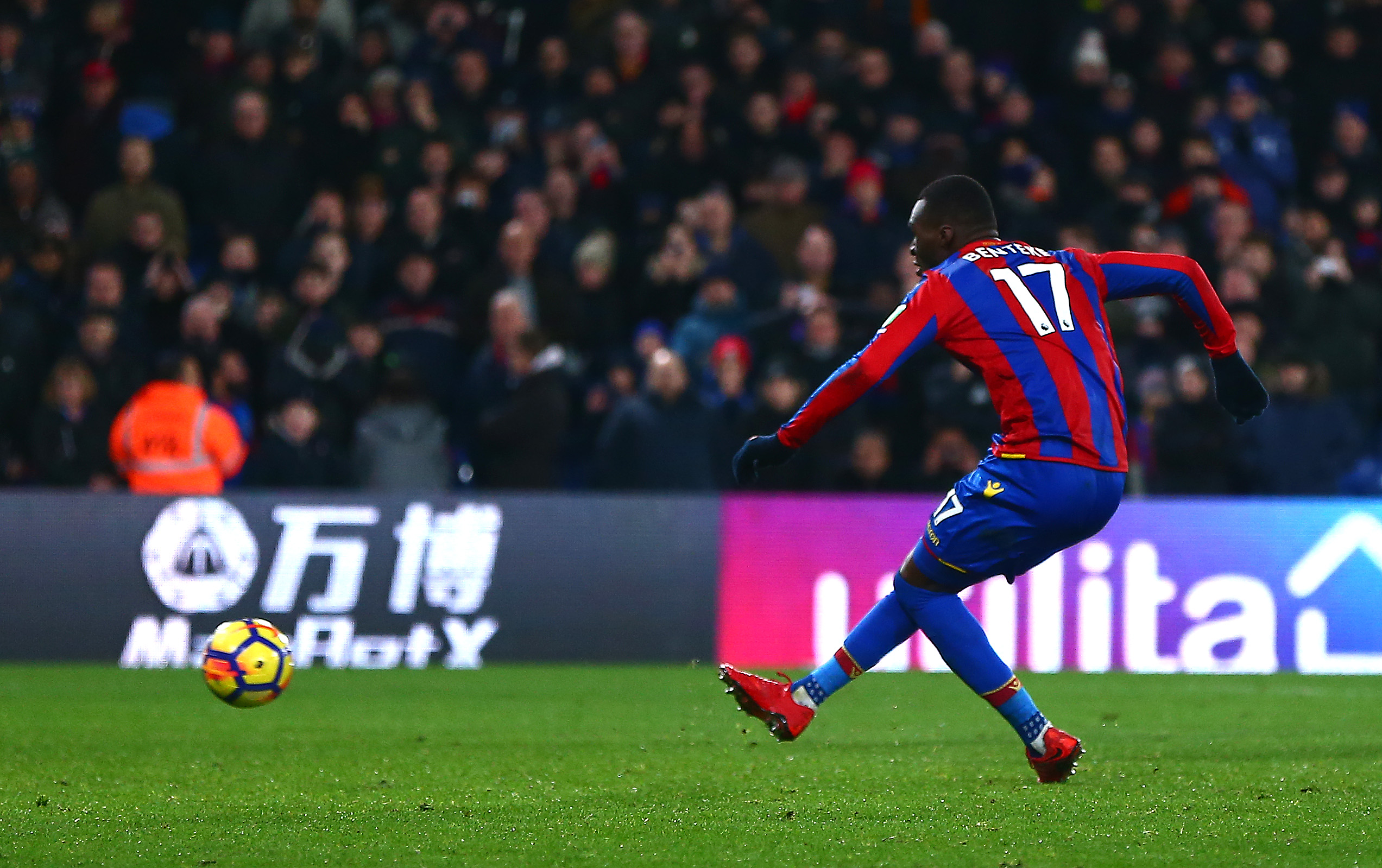 Benteke ends purpose drought as Palace beats Leicester Three-Zero